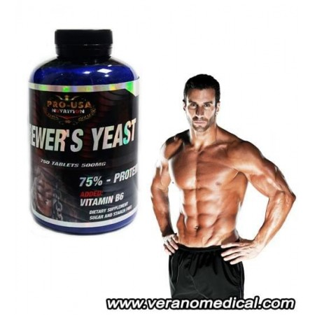 BREWER'S YEAST 750 Tablets PRO-USA Nutrition