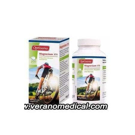 Optisana Magnésium 375  -200 comprimés-