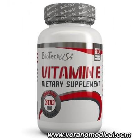 Vitamin E de BIOTECH USA (100 gélules)