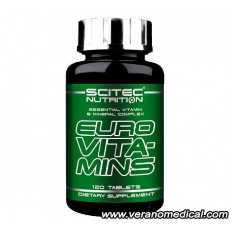 EURO VITA-MINS (120 Tablettes) - Scitec Nutrition