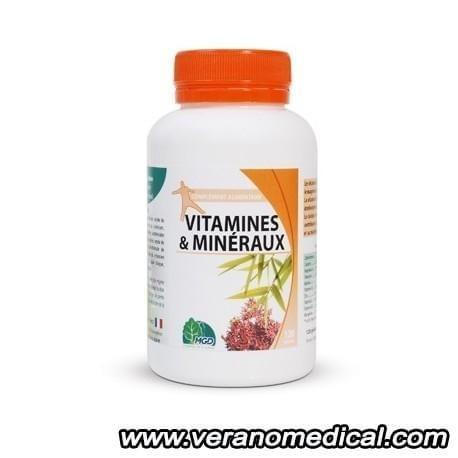 Vitamines et Minéraux MGD (120 gélules )