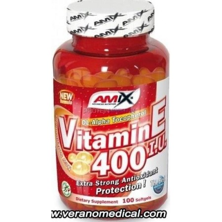 Vitamin E 400 IU AMIX 100 caps