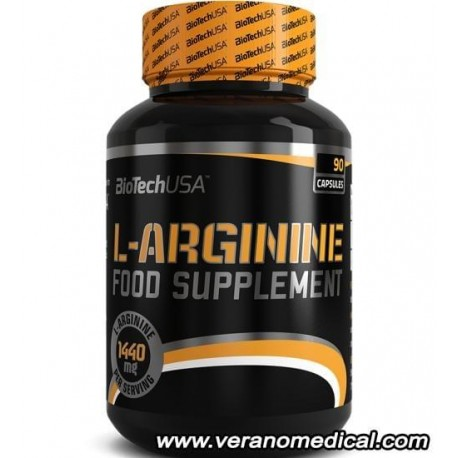 L-Arginine BIOTECH USA 90 capsules
