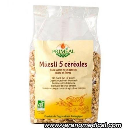 Muesli aux 5 Céréales 500 g Priméal