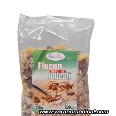 flocon d'avoine muesli viva fleur 250 gr