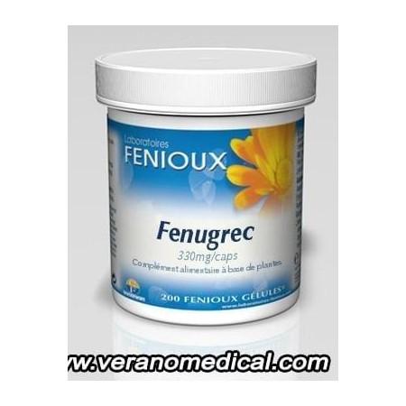Fenioux Fenugrec (Trigonella foenum graecum) 200 gelules