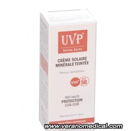 UVP CREME SOLAIRE MINERALE  TEINTE  SPF 50+  50ml