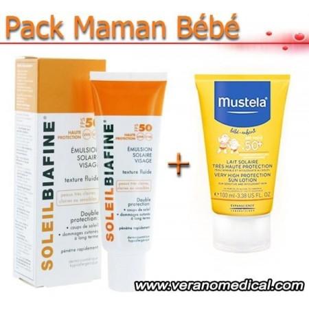 Pack Maman bébé Haute protection