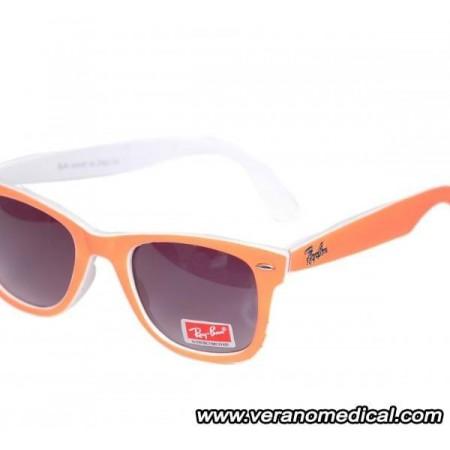 Lunette Ray Ban Wayfarer cadre orange