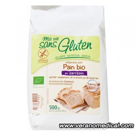 Préparation pour pain bio au Sarrasin - Ma Vie Sans Gluten