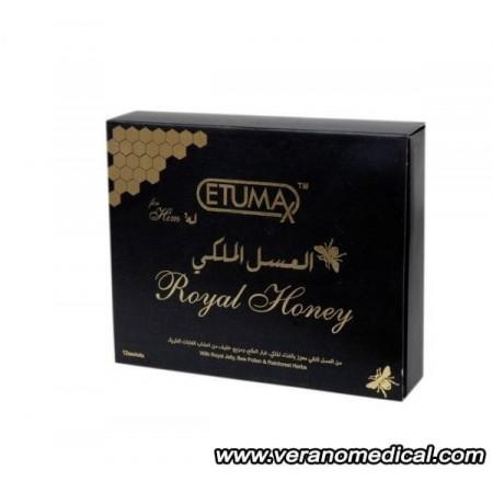 Etumax miel gelée royale - 12 sachets énergétique