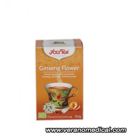 Ginseng Flower - YOGI TEA 17 sachets