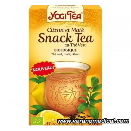 Citron et MatE - Snack Tea au ThE Vert