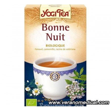 Infusion Bonne nuit 15 sachets     - Yogi Tea