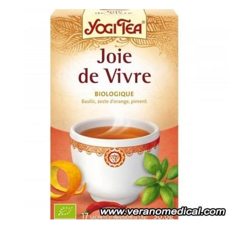 Infusion Joie de Vivre 15 sachets     - Yogi Tea