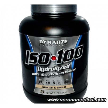 Whey Proteine ISO-100 dymatize 1,362kg
