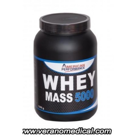 La whey mass 5000 de american performance