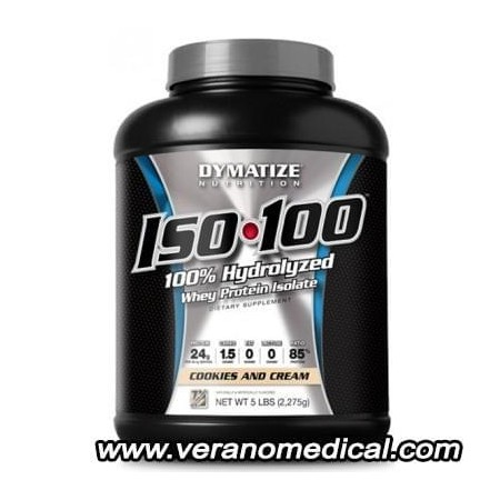 Whey Proteine ISO -100 dymatize 2270gr