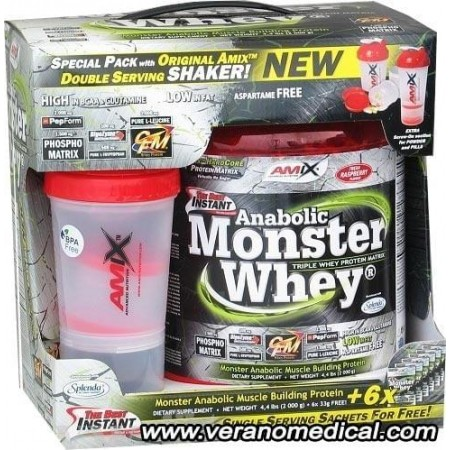 Amix Nutrition Anabolic Monster Whey 2200 g