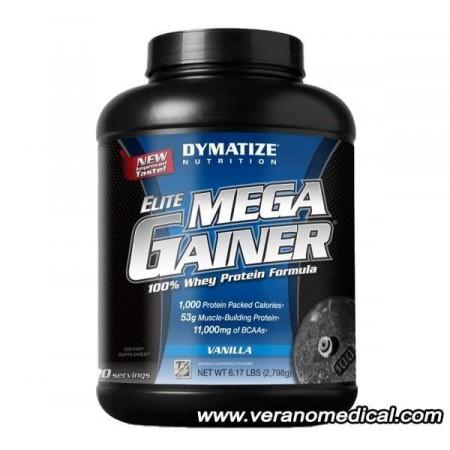 Elite Mega Gainer (2798 grammes) VANILLE