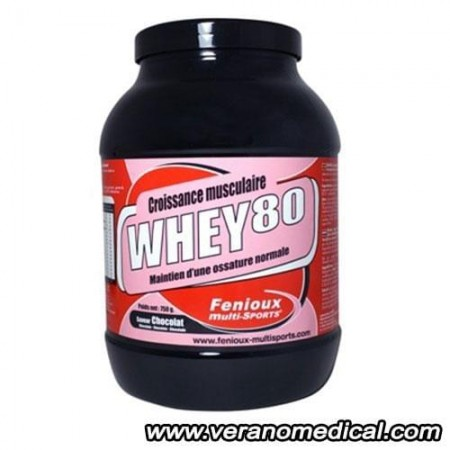 FENIOUX Multi-Sports Whey 80 Chocolat 750gr