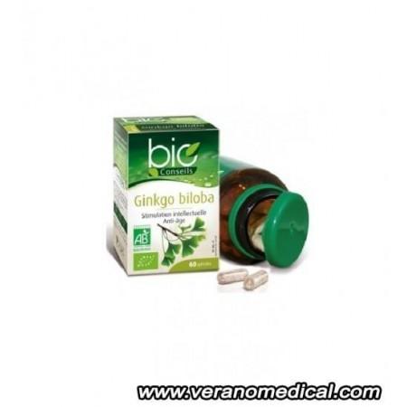 Ginkgo biloba Bio 60 gelules vegetales