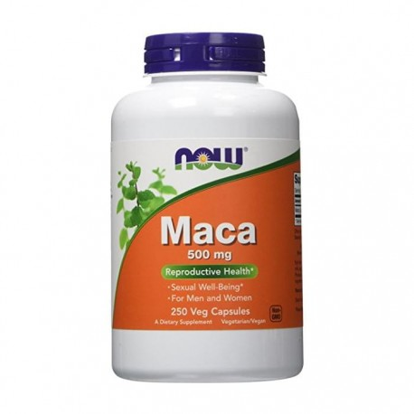 maca - now 500 mg 250 Capsules