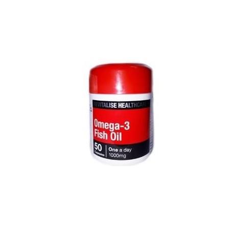 Omega 3 - fish oil 50 capsules