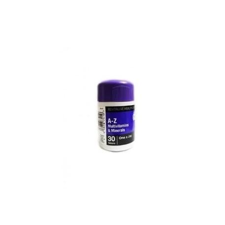 A-Z Multivitamines et Minéraux 30 tablets