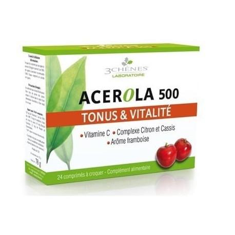 Acerola 500 Anti-Fatigue 24 Tablets