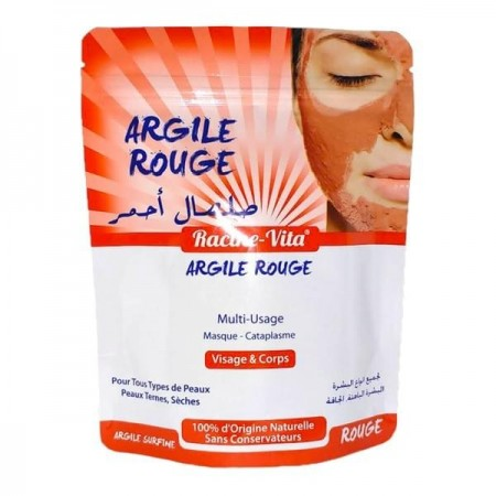 Racine vita argile rouge masque-cataplasme multi-usage 100g