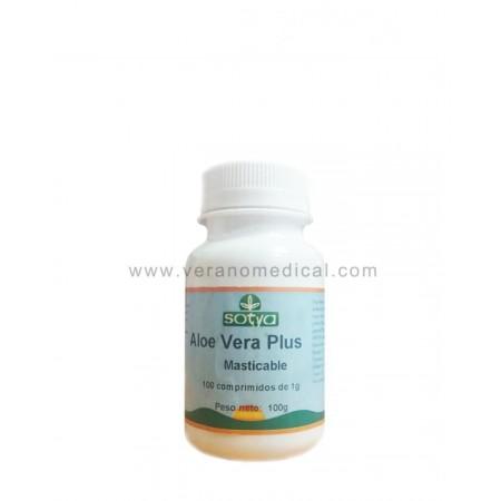 Aloe Vera plus Sotya 100 comprimés à 100 mg.