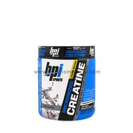 Bpi Sports Micronized 100% Creatine 300 Grams