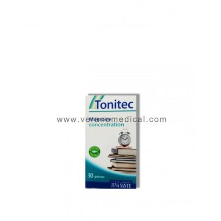 Tonitec Mémoire concentration 30 gélules