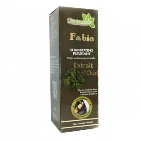 Fabio cosmétique shampoing purifiant extrait d'oud