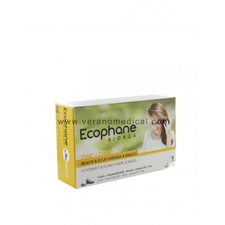 Ecophane Biorga Cheveux Et Ongles 60 Comprimés