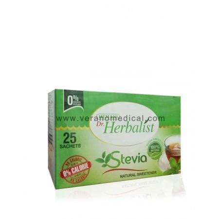 Édulcorant naturel Stevia (en 25 sachets) - Dr. Herbalist
