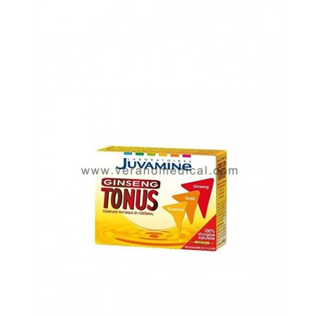 Ginseng Tonus- JUVAMINE 100% naturel