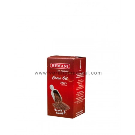 Cress Oil 30 ml -100% naturel-Hemani
