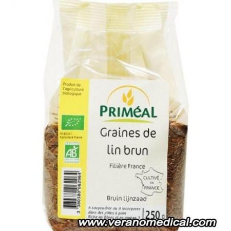Graines de Lin Brun Origine France 250 g - Primeal