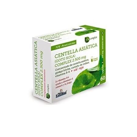 Centella Asiatica (gotu kola) Complex 2500 mg 60 capsule