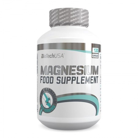 Magnesium Food Supplement  120 capsules