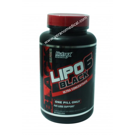 Lipo 6 black ultra concentrate 60 Capsules