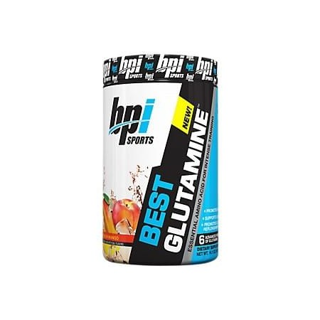 Best Glutamine - PEACH MANGO (400 Grams Powder) BPI