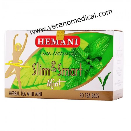 SLIM & SMART MINT TEA 40GM 20TBS