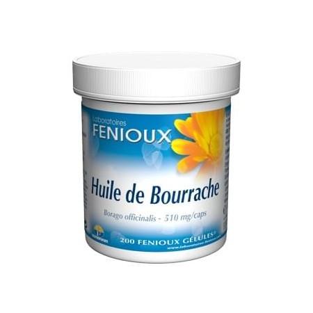 Huile de Bourrache Fenioux - 200 gelules