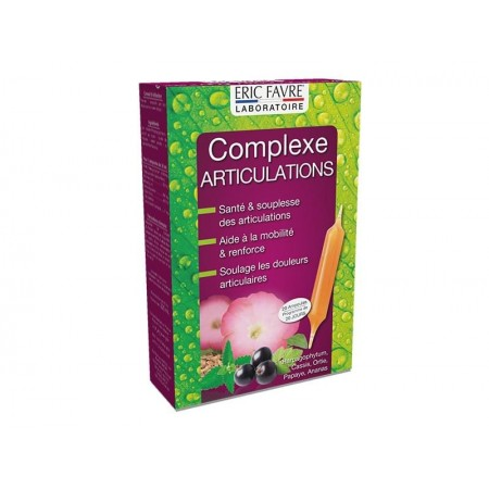 COMPLEXE ARTICULATIONS ERIC FAVRE 20 Ampoules