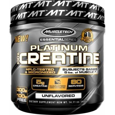 Platinum 100% Creatine Powder 80 servings