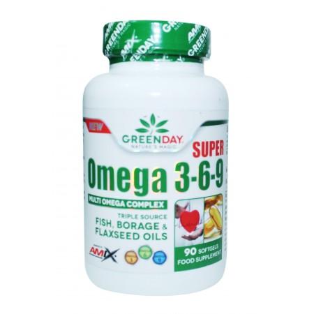 Super omega 3-6-9 90 gelules