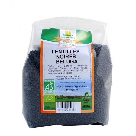 Lentilles Noires Beluga 500g